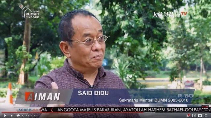 Singgung Jokowi, Said Didu Tak Kaget Ahok Jadi Bakal Bos Ibu Kota Baru: Di Mana-mana Diperjuangkan