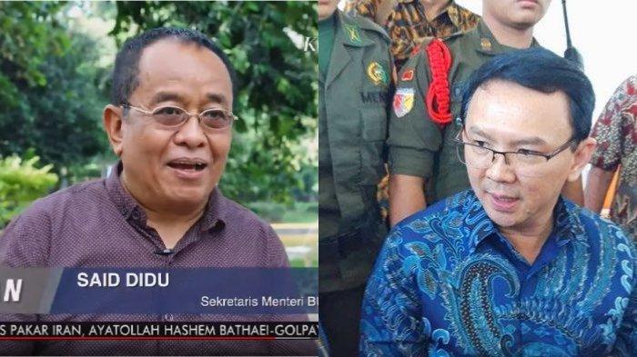 Prediksikan Peluang Ahok Jadi Bos Ibu Kota Baru, Said Didu: Publik Bilang A, Jokowi PilihnyaB