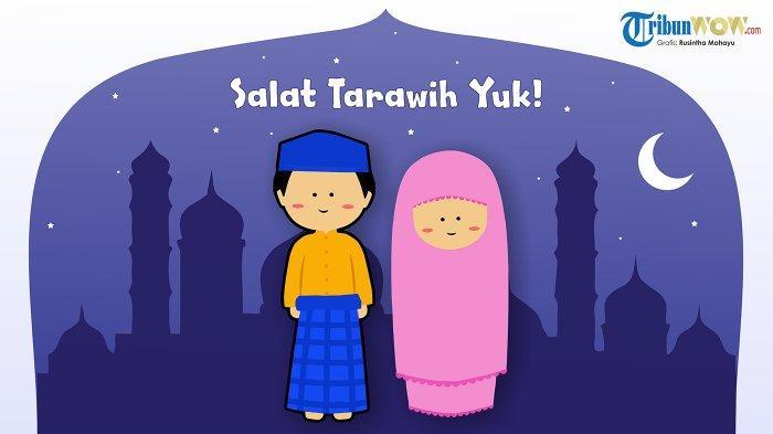 Niat dan Tata Cara Salat Tarawih serta Salat Witir Bulan Ramadan, Sendirian atau Berjemaah di Rumah