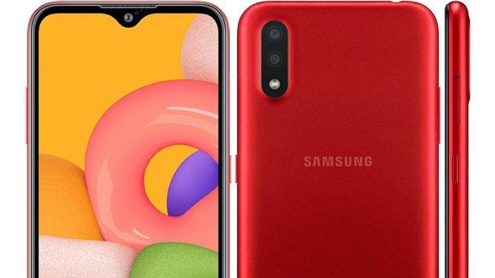 Samsung Galaxy A01 Resmi Dirilis, Ini Spesifikasi Lengkapnya