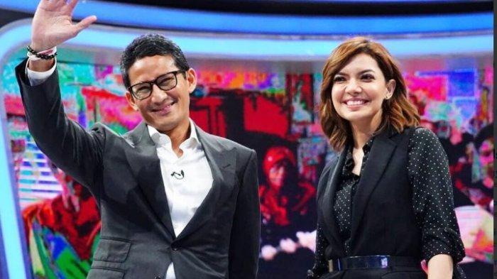 Sandiaga Uno di acara Mata Najwa, Rabu (27/2/2019)