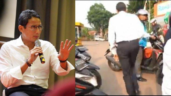 Sandiaga Jalan Kaki ke Sidang MPR karena Pejabat Lewat: Dulu Kalau Saya Lewat Ternyata Gini, Kasihan
