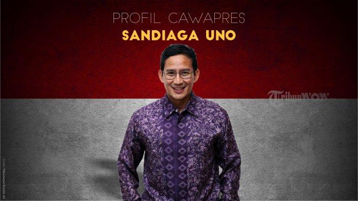 Infografis - Profil Sandiaga Uno