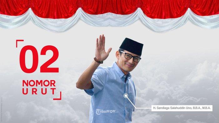 Sebut Aksi Legenda di Dunia, Sandiaga Uno Ingin Jokowi-Prabowo Pelukan di Reuni Akbar 212 di Monas