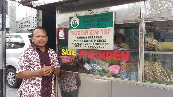 Sate Sapi Mbak Tug 'Sate Kere Presiden' yang Legendaris di Solo, Jadi Langganan Jokowi, Sudah Icip?