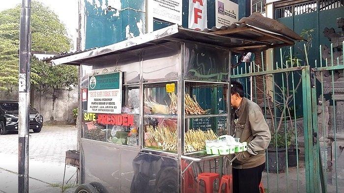 Cerita Penjual Sate Kere Presiden yang Berani Tolak Perintah Jokowi dan Tawaran Gibran