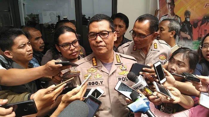 KABID Humas Polda Metro Jaya Kombes Argo Yuwono di Mapolda Metro Jaya, Selasa (15/1/2019)