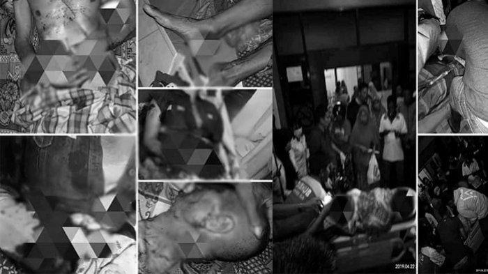Satu keluarga menjadi korbanpenikaman tetangga di Sulawesi Selatan.