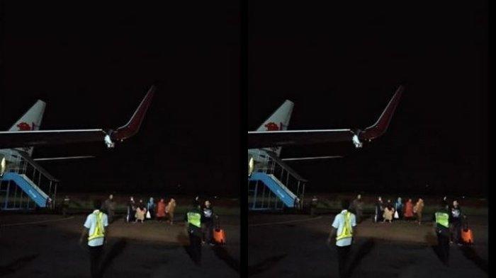Fakta-fakta Pesawat Lion Air Tabrak Tiang Lampu Koordinat, Sayap Robek hingga Petugas AMC Diperiksa