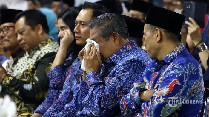 Kenang Ani Yudhoyono, SBY Menitikkan Air Mata saat Dengar Lagu 'Candle In The Wind'