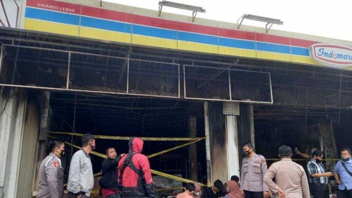 Tak Mau Aksinya Terbongkar, Pegawai Bakar Minimarket Tempatnya Bekerja setelah Gondol Rp 16 Juta