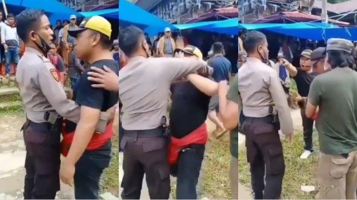 Viral Penjudi Sabung Ayam Tantang Anggota Polisi yang Melakukan Razia, Ancam Pakai Pecahan Botol