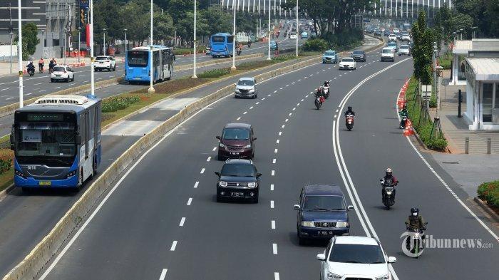 Jakarta Keluar dari 10 Besar Kota Termacet di Dunia, Anies Baswedan di Depan Jokowi: Kita Ranking 31