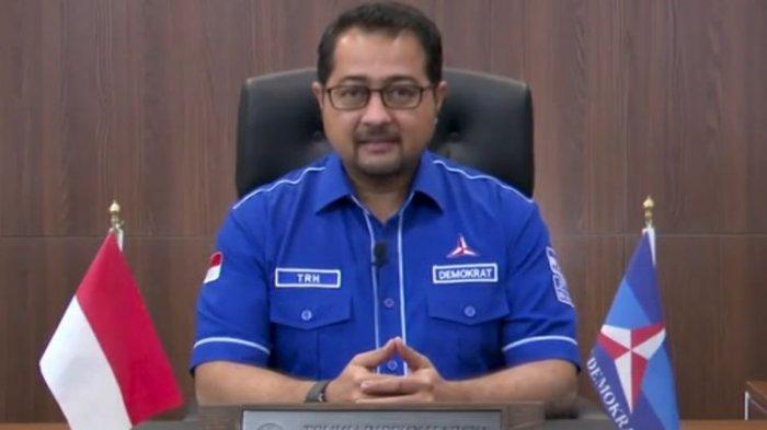 Sekretaris Jenderal Partai Demokrat Teuku Riefky Harsya dalam video keterangan pers, Jumat (5/2/2021).