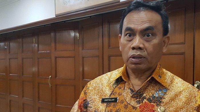 Sekretaris Daerah DKI Jakarta Saefullah meninggal dunia karena Covid-19 di RSPAD Gatot Subroto, Jakarta, Rabu (16/9/2020) siang.