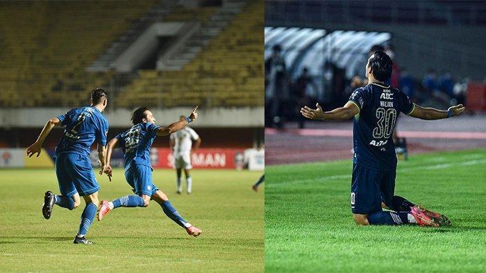Striker Persib Bandung Cetak 2 Gol Indah Melalui Kepala dan Kakinya, Calon Top Skor Piala Menpora?