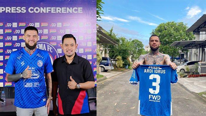 Sempat Dirumorkan ke Persib Bandung, Diego Michiels Ternyata Nyaman di Arema FC: Santai Aja Gitu