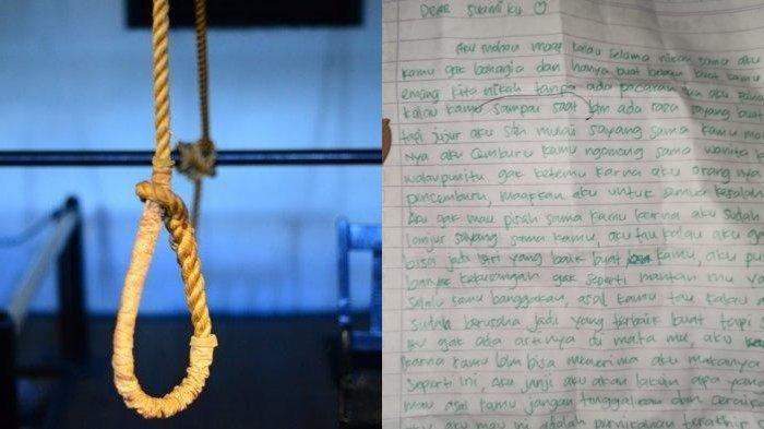 Pesan Terakhir Gadis Binjai untuk Mantan Tunangannya sebelum Tewas Gantung Diri di Kamar Mandi