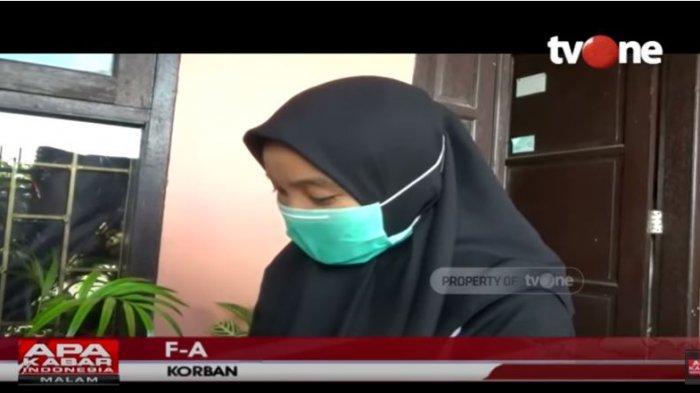 Seorang mahasiswi UIN Makassar yang menjadi korban teror video call cabul dari pria tak dikenal.