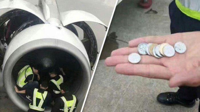 Lempar Koin ke Pesawat, Seorang Perempuan Asal China Ditangkap dan Didenda Rp 292,8 Juta