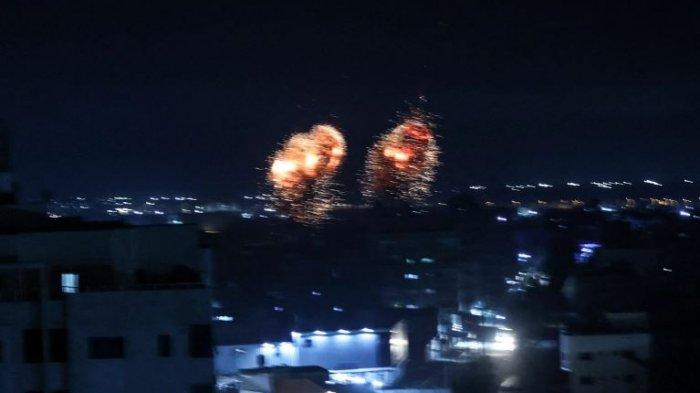Israel Kembali Lancarkan Serangan Udara ke Gaza, Klaim Serang Markas Milik Hamas
