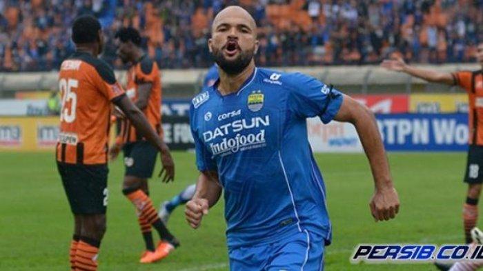 Sergio van Dijk saat masih menjadi pemain Persib Bandung.