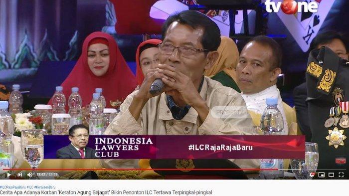 Di ILC, Korban Keraton Agung Sejagat Tolak Pakai Seragamnya Lagi, Karni Ilyas: Pak Eko Sudah Nyesal?