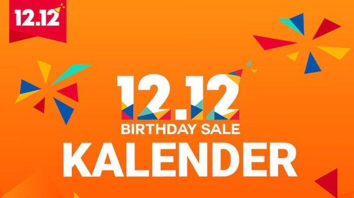 Shopee 12.12 Birthday Sale 19 November - 15 Desember 2018, Ada Promo Menarik Setiap Hari