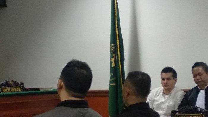 Sidang Steve Emmanuel terkait kasus narkoba kembali digelar di Pengadilan Negeri Jakarta Barat, Kamis (23/5/2019)