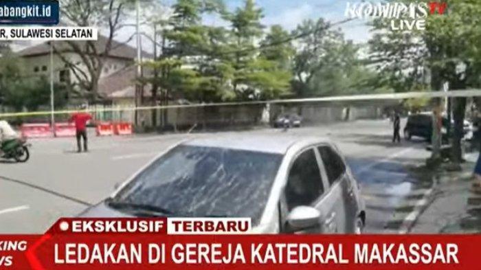Ledakan Bom Gereja Katedral Makassar, Ditemukan Orang Meninggal di Atas Motor Kondisi Mengenaskan