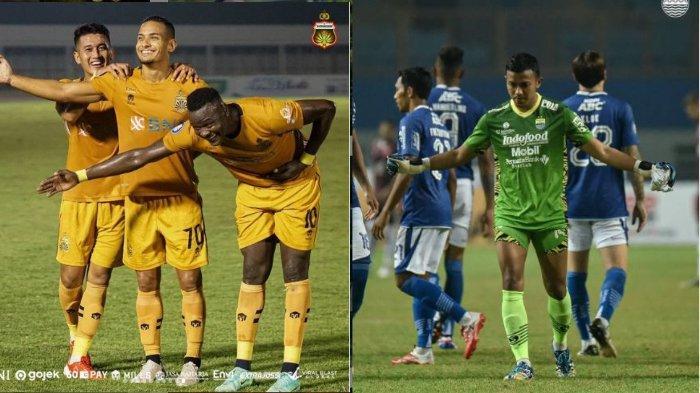 Bhayangkara FC Vs Persib Bandung: Adu Kokoh Tembok Pertahanan Terkuat di Liga 1 2021