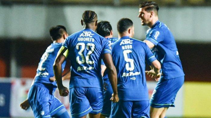 Skuad Persib Bandung di Piala Menpora 2021