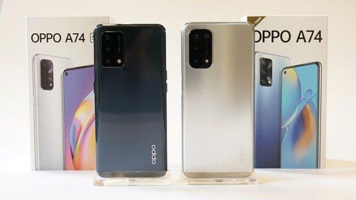 Oppo A74 5G dan A74.
