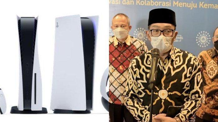 Reaksi Ridwan Kamil saat Desain Masjidnya Disebut Mirip PS 5: Lucu-lucu Komentar Netizen