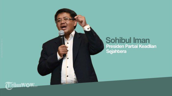 Sohibul Iman Mengatakan Sejak Awal Sudah Ada Kesepakatan PKS dan Gerindra Perihal Kursi Wagub DKI