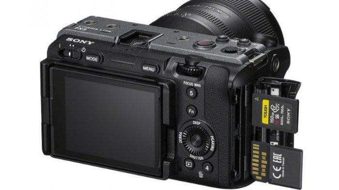 Cek Harga dan Spesifikasi Kemra Sony FX3, Mirrorless Ringkas untuk Kreator Konten