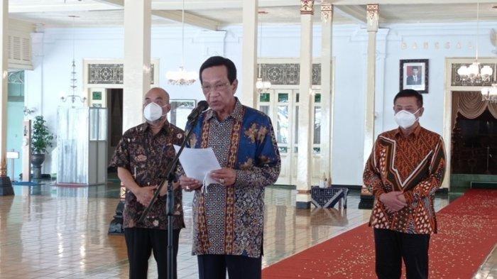 Covid-19 Alami Kenaikan di Yogyakarta, Sri Sultan HB X Gelar Sapa Aruh, Ini Pesannya