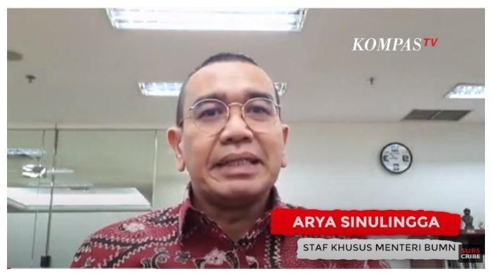 Staf Khusus Menteri BUMN, Arya Sinulingga memberikan penjelasan terkait adanya kontroversi kenaikan tarif listrik dalam tayangan KompasTV, Kamis (11/6/2020).