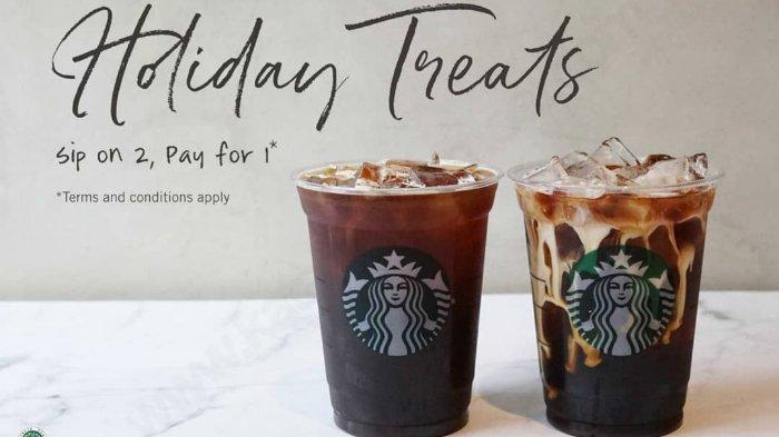 Hanya Hari Ini, Promo Starbucks 'Buy One Get One' dengan Kupon Line, Begini Cara Dapatkannya!