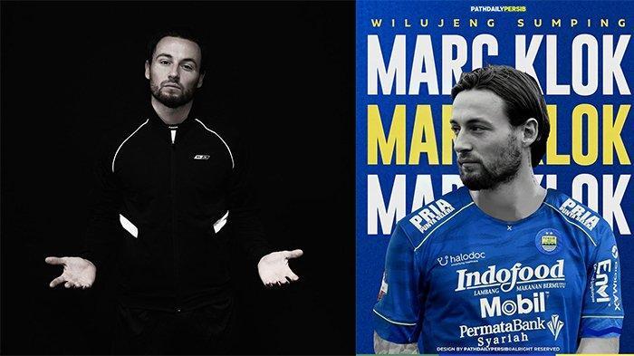 Marc Klok (kiri) pada postingan Instagram @marcklok 28 Juni 2021 dan Sambutan untuk Marc Klok (kanan) pada postingan Instagram @paith.daily.persib pada 30 Juni 2021. Statement perdana Marc Klok setelah resmi bergabung ke Persib Bandung.