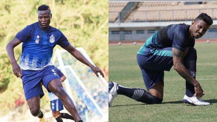 Bhayangkara FC Vs Persib Bandung: Beda Produktivitas Gol Antara Ezechiel Ndouasel dan Wander Luiz