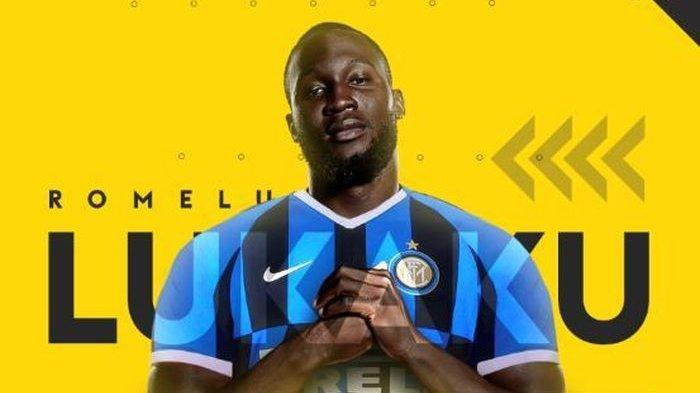 Striker Inter Milan, Romelu Lukaku.