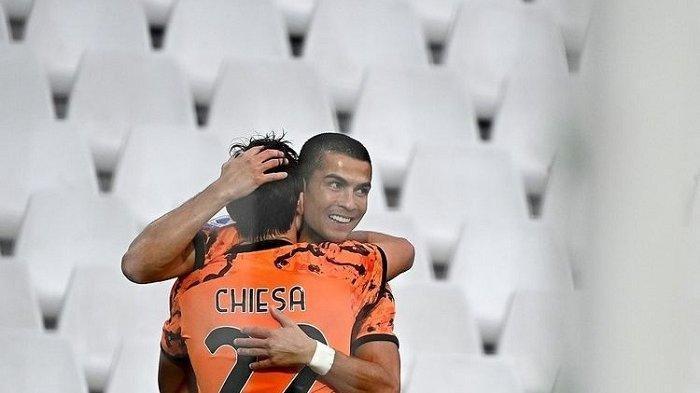 Tampil Perdana setelah Sembuh dari Covid-19, Ronaldo Cetak Brace ke Gawang Spezia