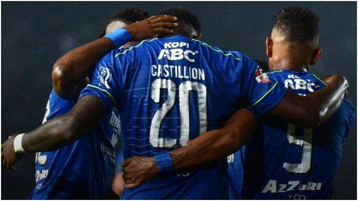 Starting 11 Persib Bandung Belum Ditentukan, Tergantung Geoffrey Castillion dan Wander Luiz