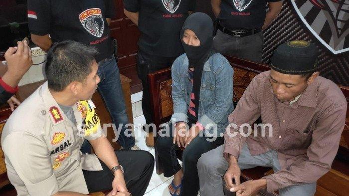Pihak Polres Lumajang akhirnya meminta keterangan dari Hartono (38) dan Lasmi (34) dalam lanjutan kasus dugaan penggadaian istri oleh Hori (43), Jumat (14/6/2019).