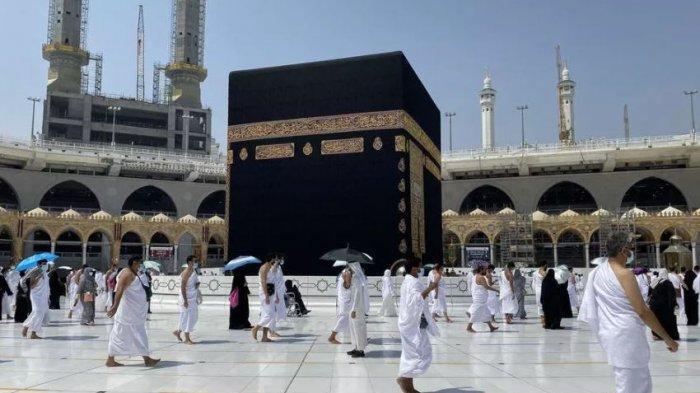Ilustrasi Suasana Makkah, Arab Saudi, pada 4 Oktober 2020.