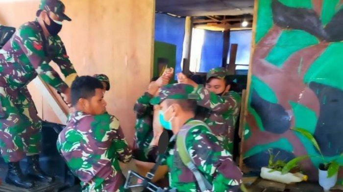 Posramil Kisor Diserang 50 OTK, 4 Anggota TNI Gugur, Pangdam Kasuari Kerahkan Personel Kejar Pelaku