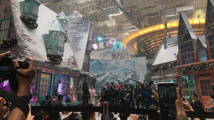 Kerja Sama dengan Warner Bros, Bandara Changi Hadirkan Nuansa Dunia Sihir di 'A Wizarding World'