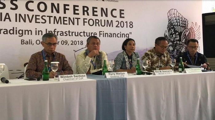 Di Pertemuan IMF-World Bank 2018, Indonesia Dapat Investasi Rp 202 Triliun