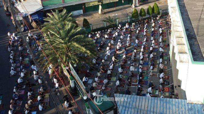 Tata Cara dan Bacaan Doa Niat Salat Idul Fitri Berjemaah atau Sendirian di Rumah